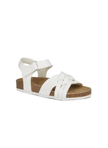 Vicco Vicco 321.20Y.350 Günlük Kız/Erkek Çocuk Sandalet Terlik Beyaz
